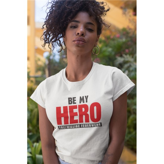 BE MY HERO - WOMEN - WHITE...