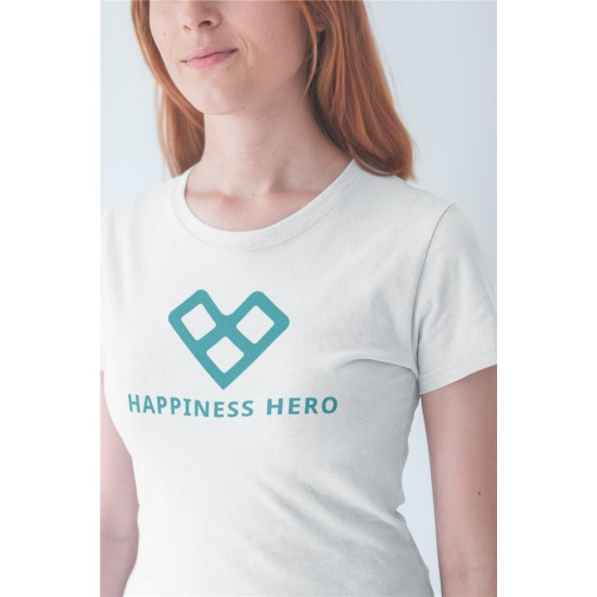 HAPPINESS HERO LOGO SHIRT -...