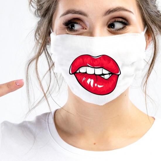 Mund-Nasen-Masken - Lippen
