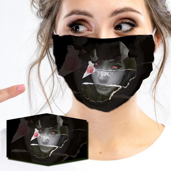 Mund-Nasen-Masken - GIRL FACE
