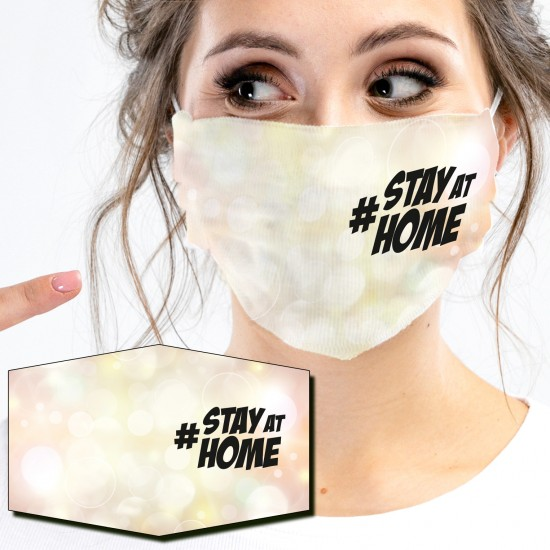 Mund-Nasen-Masken - STAY AT...