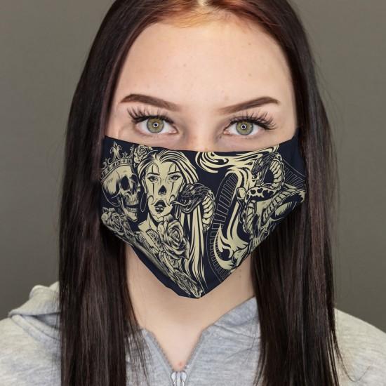 Mund-Nasen-Masken - Vintage...