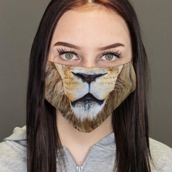 Mouth-Nose-Masks-Lion Buckles