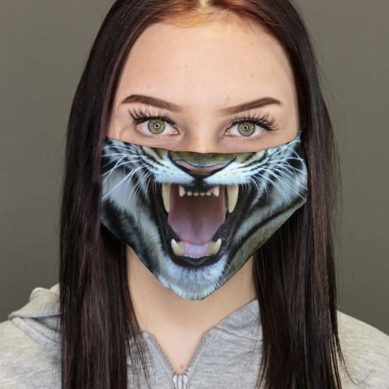 Tigre maschera da bocicapa