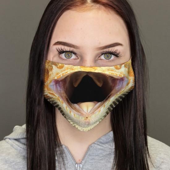 bouche-nez-masque-Gecko Reptil