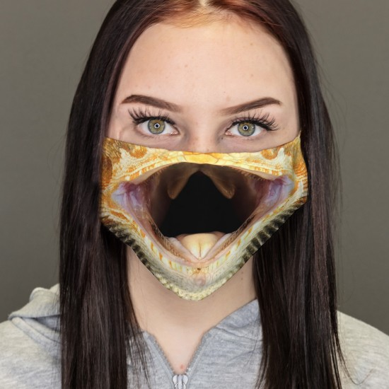 Mouth-nose masks-Gecko Reptil