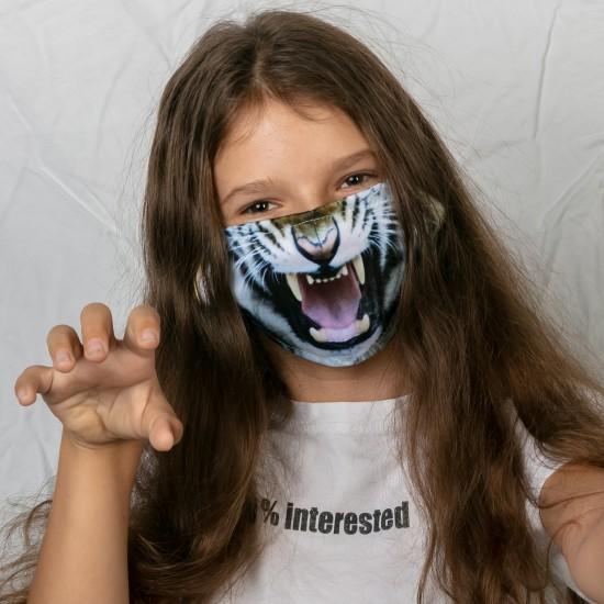 Mund-Nasen-Masken - Tiger