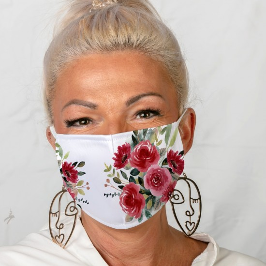 Mouth-nose masks-Rose...